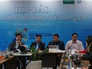Robot sẽ tranh tài ném còn tại Robocon 2018