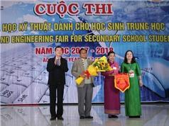 Quảng Trị: Khai mạc cuộc thi Khoa học kỹ thuật dành cho học sinh trung học