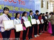 Thừa Thiên - Huế: Trao giải cho các học sinh tham gia cuộc thi Intel ViSEF