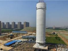 Tháp lọc khí lớn nhất thế giới có hiệu quả với Trung Quốc