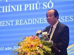 """Bộ trưởng, Chủ nhiệm Văn phòng Chính phủ Mai Tiến Dũng: """"Việt Nam đã sẵn sàng hướng đến Chính phủ số"""""""