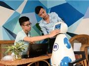 Robot phục vụ trong gia đình