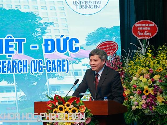 Khai trương Trung tâm Nghiên cứu y học Việt - Đức