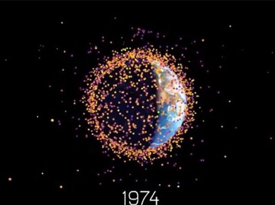 Trung Quốc dự định dùng tia laser tiêu hủy rác vũ trụ