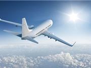 Vì sao máy bay thường sơn màu trắng?