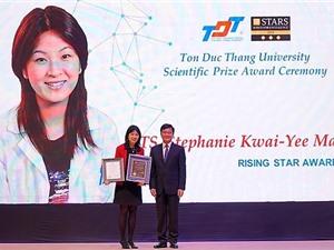 4 nhà khoa học xuất sắc quốc tế nhận giải thưởng TDTU PRIZE