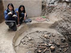 Phát hiện ngôi mộ tập thể 2.400 tuổi mai táng theo nghi thức của người Maya