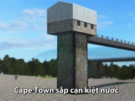 Thủ đô Nam Phi thắt chặt định mức trước khi cạn kiệt nước