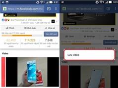 Tải video trên Facebook cực đơn giản không cần cài phần mềm