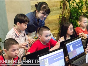 Vì trẻ em cần học lập trình