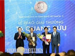 Giải thưởng Tạ Quang Bửu 2018: Số hồ sơ đăng ký tăng gần gấp đôi