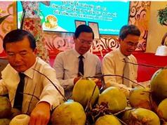"""Công bố chỉ dẫn địa lý """"Bến Tre"""" cho dừa xiêm xanh và bưởi da xanh"""