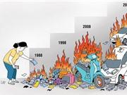 Chi cho đồ cúng gấp 8 lần chi cho đồ chơi và sách truyện trẻ em