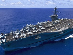 Bên trong lò phản ứng hạt nhân trên tàu sân bay USS Carl Vinson