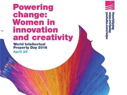 Ngày Sở hữu trí tuệ thế giới 2018: Tôn vinh phụ nữ trong đổi mới và sáng tạo