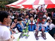 Hàng nghìn học sinh, thầy cô tới tham dự Ngày hội STEM tỉnh Bắc Ninh