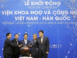 """VKIST - """"công trình"""" hợp tác Việt Nam - Hàn Quốc trong khoa học và công nghệ"""