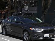 Xe tự lái của Uber đâm trúng người đi bộ