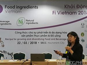 TPHCM: Sắp diễn ra triển lãm lớn về phụ gia thực phẩm