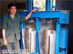 Người đam mê chế tạo máy cơ khí đất Huế