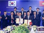 Giai đoạn 2018-2020: Việt Nam - Hàn Quốc ưu tiên hợp tác công nghệ sinh học, nano, CNTT...