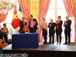Việt Nam - Pháp hợp tác về công nghệ vũ trụ và sở hữu trí tuệ