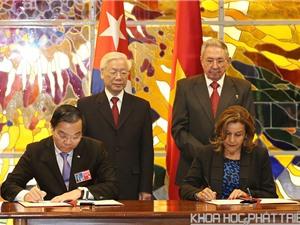 Việt Nam – Cuba tăng cường hợp tác KH&CN