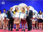 """Bộ điều khiển hỗ trợ người khuyến tật đoạt giải nhất Cuộc thi """"Nhà khoa học trẻ"""""""