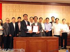 Đại học Quốc gia Hà Nội hợp tác để phát triển tài sản trí tuệ