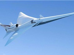 Phát triển loại máy bay siêu thanh ít gây ồn