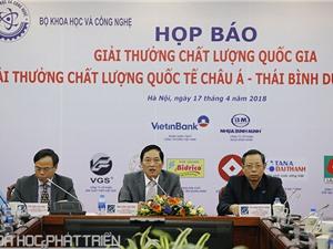 15 doanh nghiệp Việt nhận Giải Vàng Chất lượng Quốc gia