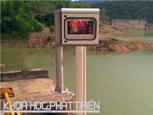 Thiết bị đo mực nước tự động chính xác từng milimét