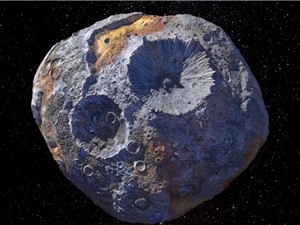 NASA dự định thám hiểm tiểu hành tinh kim loại