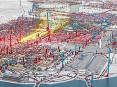 [Video] Mô hình mô phỏng Washington DC bị bom nguyên tử