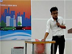 Sinh viên hiến kế phát triển đô thị