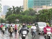 Ngày Giỗ Tổ, nhiệt độ giảm còn 25 độ kèm mưa