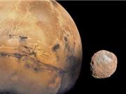 Giả thuyết về sự hình thành hai mặt trăng của sao Hỏa