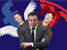Elon Musk không xóa tài khoản Facebook như tuyên bố?