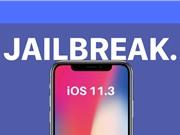 iOS 11.3 mới nhất đã bị jailbreak