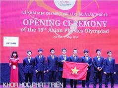 Khai mạc Olympic vật lý châu Á lần thứ 19
