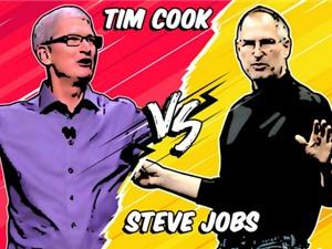 Steve Jobs và Tim Cook: Ai quản lý Apple tốt hơn