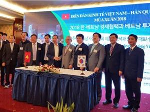 DN Hàn Quốc tăng cường xúc tiến đầu tư tại Việt Nam