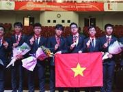 Olympic Vật lý châu Á 2018: Đoàn Việt Nam đạt thành tích tốt nhất từ trước đến nay