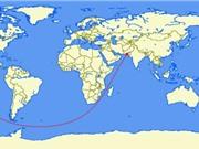 Tuyến đường biển và đường bộ dài nhất thế giới