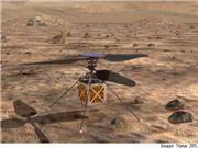 NASA dự định gửi máy bay trực thăng lên Sao Hỏa