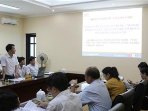 Hà Tĩnh: Nghiên cứu sản xuất cốm dùng trong điều trị bệnh tiêu chảy cho trẻ em bằng thuốc nam