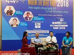 Nhân tài Đất Việt 2018: Giá trị giải thưởng tăng gấp đôi