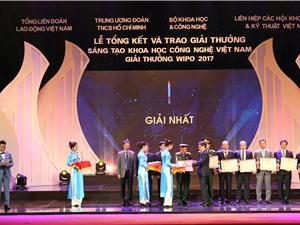 Vinh danh 41 công trình đạt Giải Sáng tạo khoa học công nghệ Việt Nam 2017