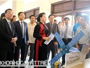 Chủ tịch Quốc hội Nguyễn Thị Kim Ngân: Sẽ thăm những đơn vị nghiên cứu khoa học thiếu và yếu về cơ sở vật chất