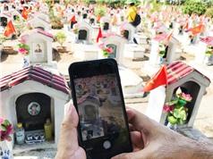 Thu thập dữ liệu mộ liệt sĩ: Ứng dụng công nghệ mới thiết thực